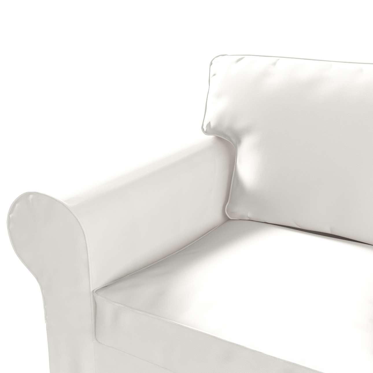 Pokrowiec na sofę Ektorp 3-osobową, rozkładaną, PIXBO w kolekcji Cotton Panama, tkanina: 702-34