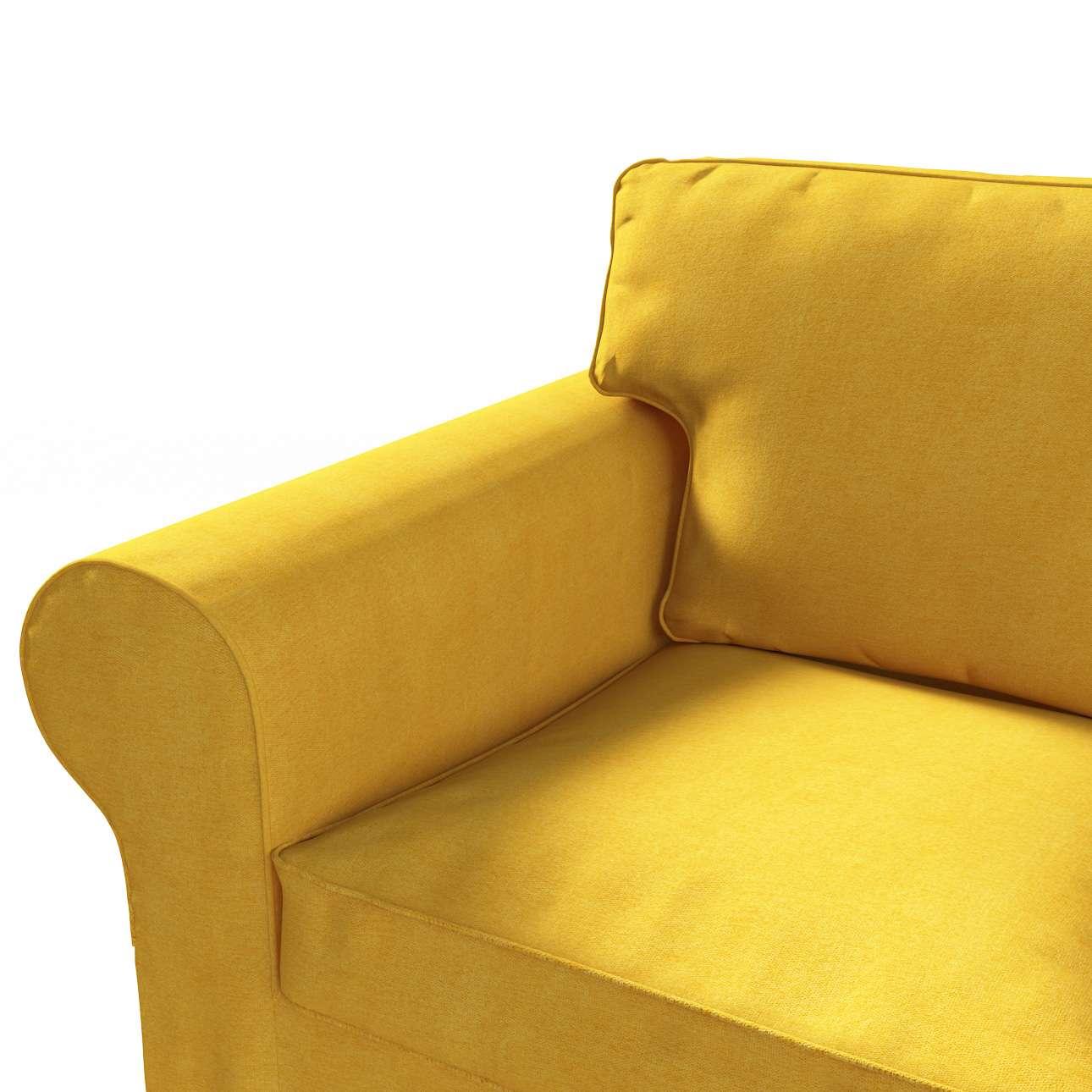 Pokrowiec na sofę Ektorp 3-osobową, rozkładaną, PIXBO w kolekcji Etna, tkanina: 705-04