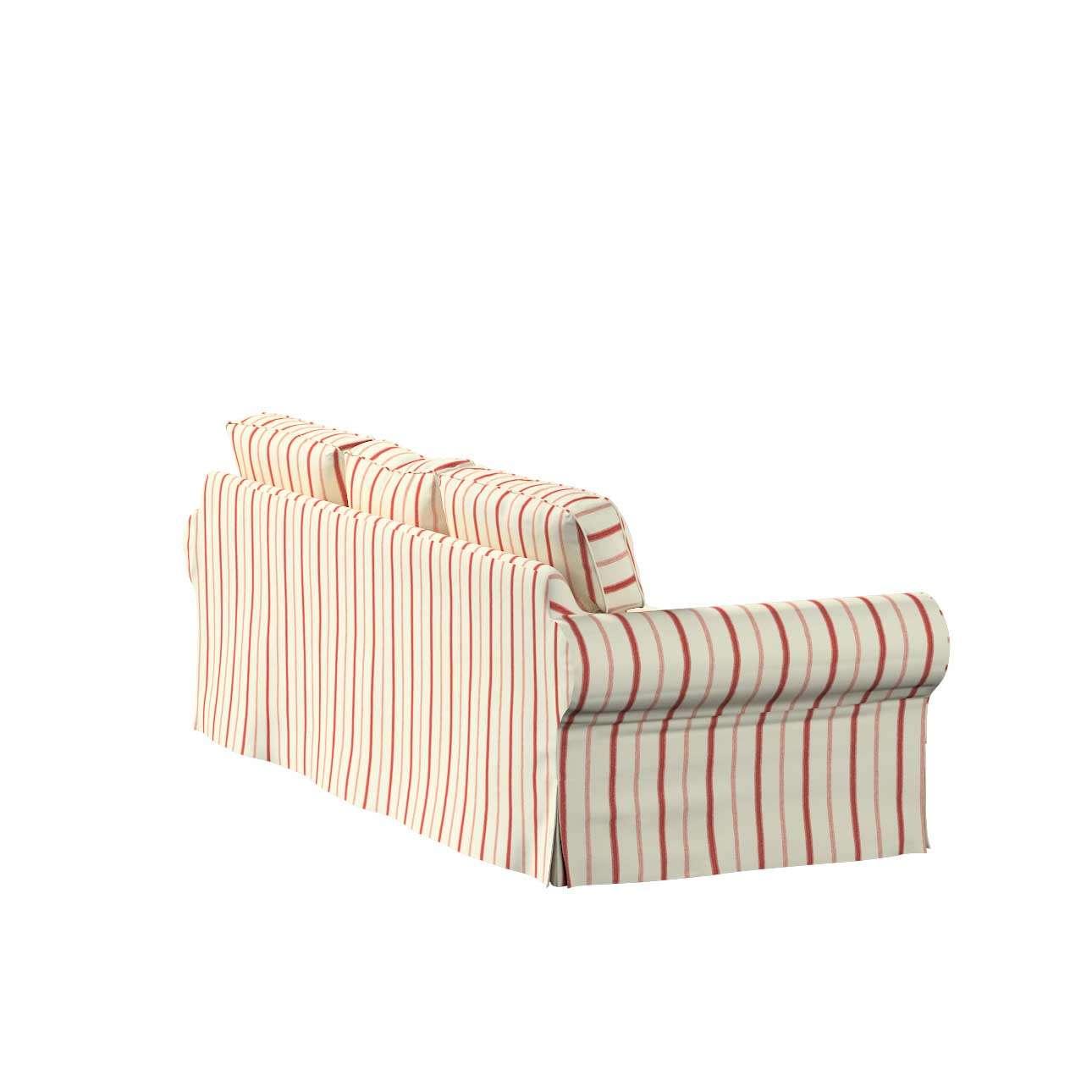 Potah na pohovku IKEA  Ektorp 3-místná, rozkládací STARÝ MODEL pohovka Ektorp 3-místná rozkládací v kolekci Avignon, látka: 129-15