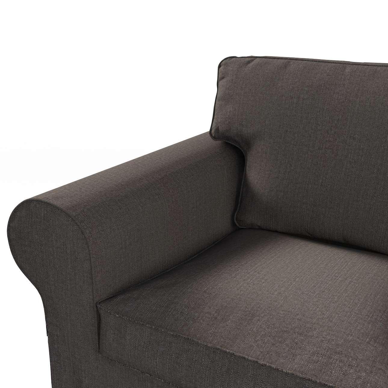 Pokrowiec na sofę Ektorp 3-osobową, rozkładaną STARY MODEL w kolekcji Vintage, tkanina: 702-36