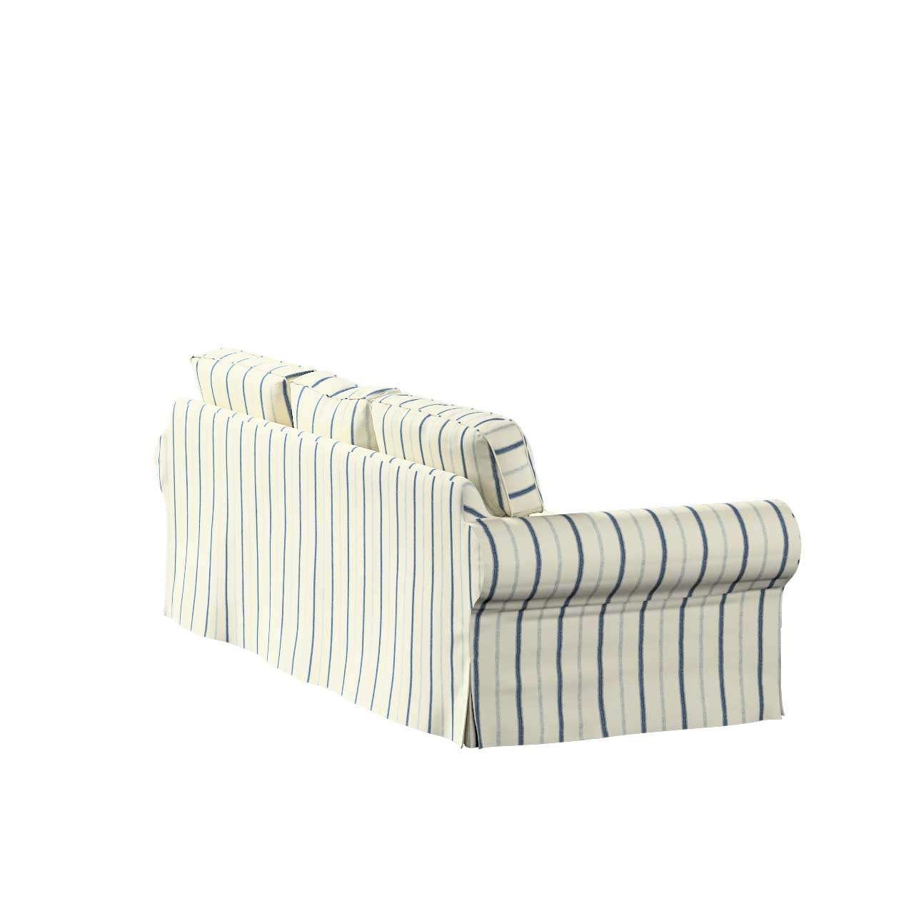 Pokrowiec na sofę Ektorp 3-osobową, rozkładaną STARY MODEL Sofa Ektorp 3-osobowa rozkładana w kolekcji Avinon, tkanina: 129-66