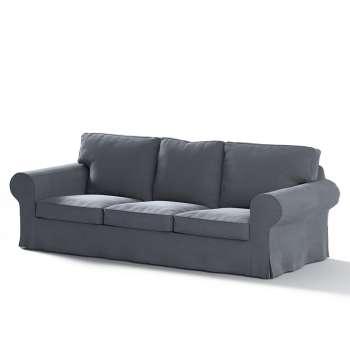 Pokrowiec na sofę Ektorp 3-osobową, rozkładaną, PIXBO w kolekcji Velvet, tkanina: 704-12