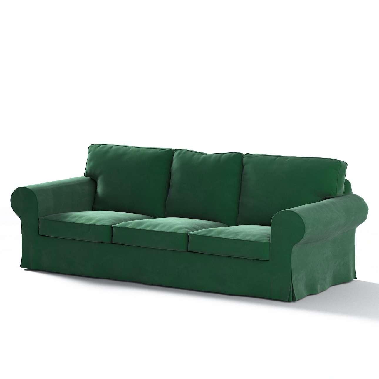 Pokrowiec na sofę Ektorp 3-osobową, rozkładaną, PIXBO w kolekcji Velvet, tkanina: 704-13