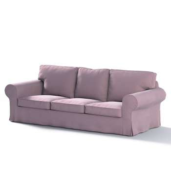 Ektorp 3 seter sovesofa med boks for sengetøy fra kolleksjonen Velvet, Stoffets bredde: 704-14