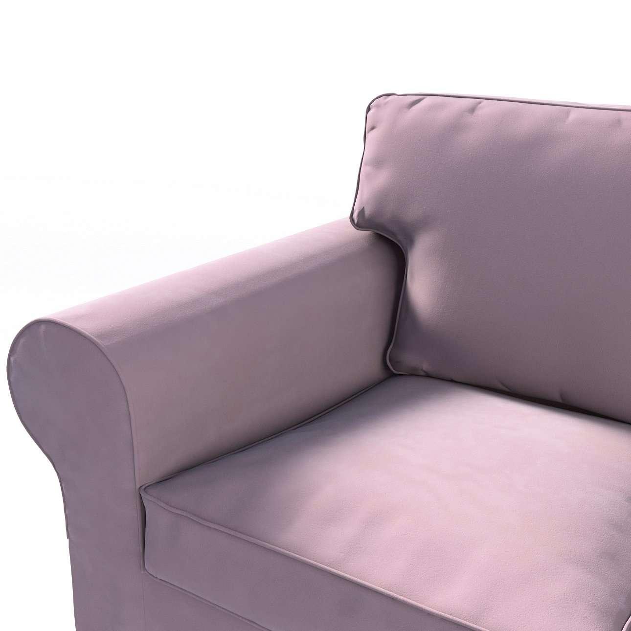Ektorp trekk 3 seter sovesofa med boks for sengetøy fra kolleksjonen Velvet, Stoffets bredde: 704-14