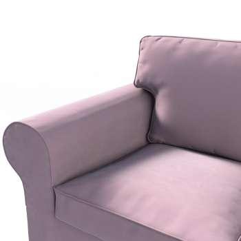 IKEA Ektorp <br>3-sits bäddsoffa med förvaring för sängkläder i kollektionen Velvet, Tyg: 704-14