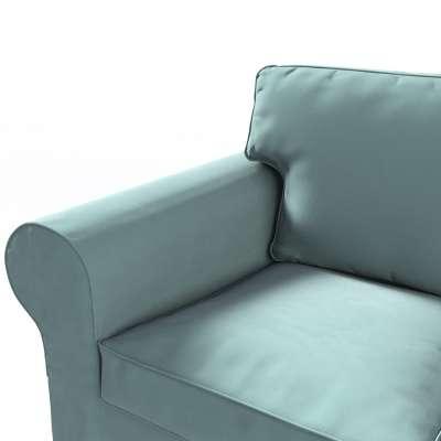 Pokrowiec na sofę Ektorp 3-osobową, rozkładaną, PIXBO w kolekcji Velvet, tkanina: 704-18