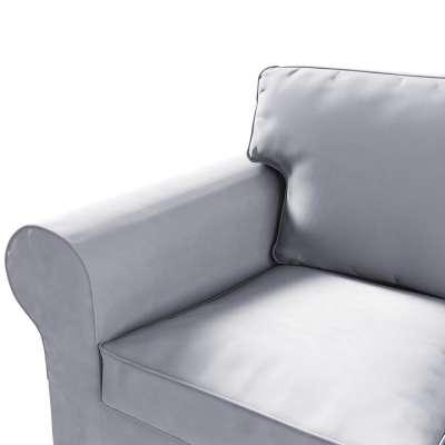Pokrowiec na sofę Ektorp 3-osobową, rozkładaną, PIXBO w kolekcji Velvet, tkanina: 704-24