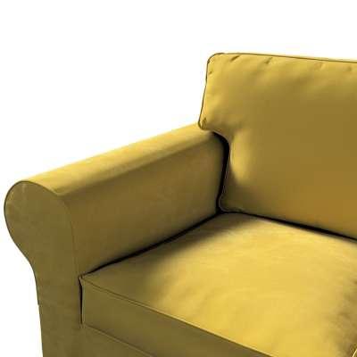 Pokrowiec na sofę Ektorp 3-osobową, rozkładaną, PIXBO w kolekcji Velvet, tkanina: 704-27