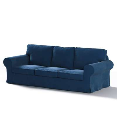 Pokrowiec na sofę Ektorp 3-osobową, rozkładaną, PIXBO w kolekcji Velvet, tkanina: 704-29