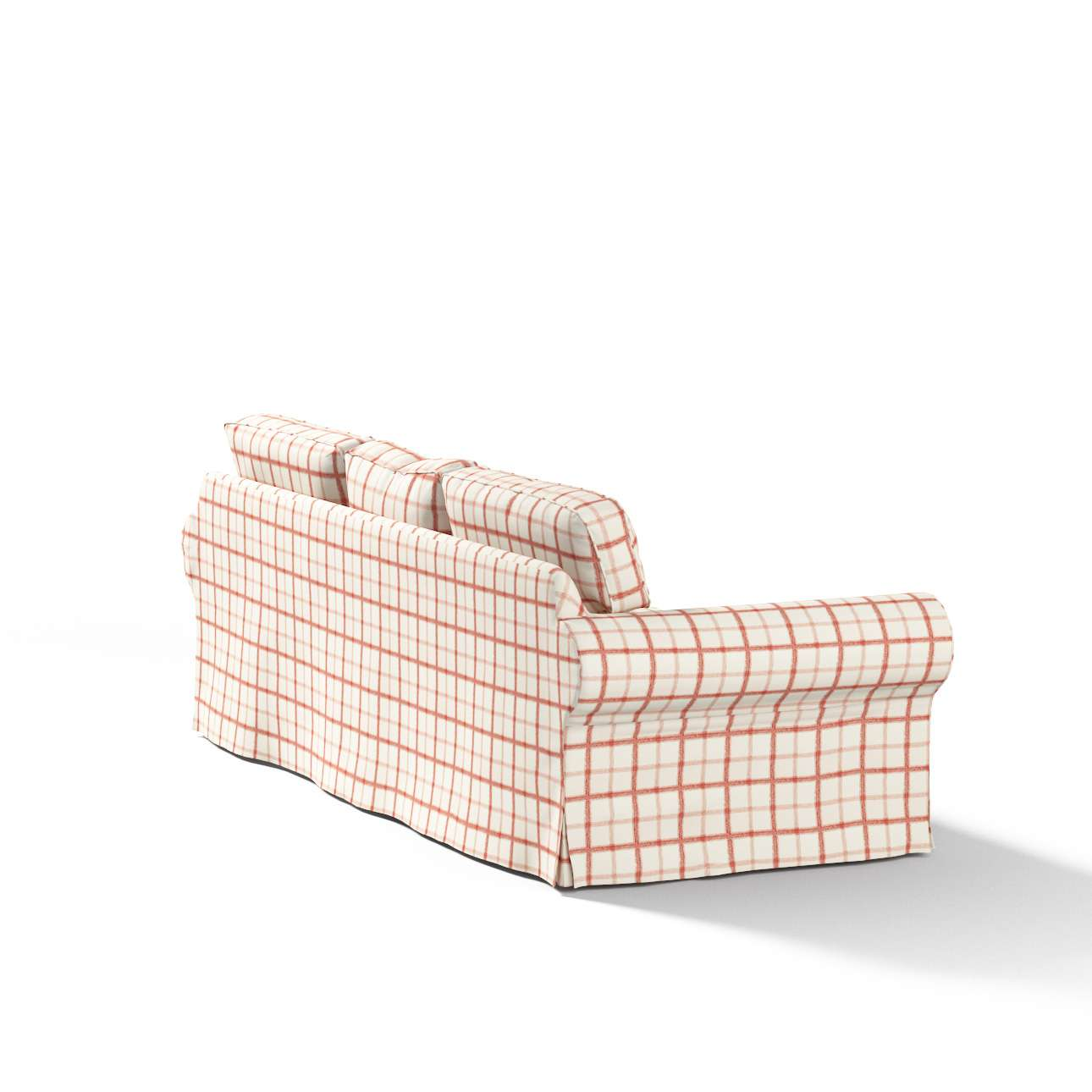 Pokrowiec na sofę Ektorp 3-osobową, rozkładaną STARY MODEL Sofa Ektorp 3-osobowa rozkładana w kolekcji Avinon, tkanina: 131-15