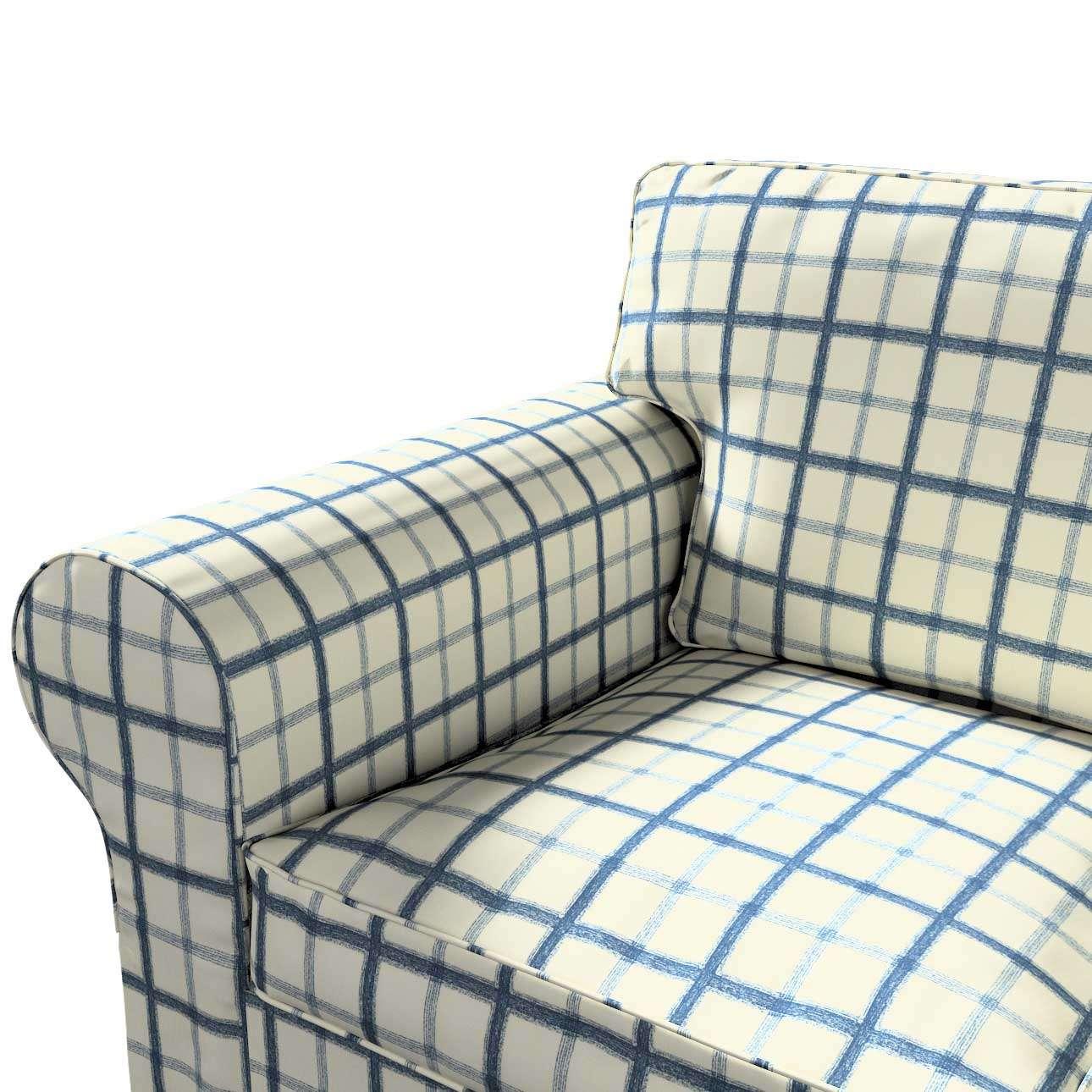 Pokrowiec na sofę Ektorp 3-osobową, rozkładaną STARY MODEL Sofa Ektorp 3-osobowa rozkładana w kolekcji Avinon, tkanina: 131-66
