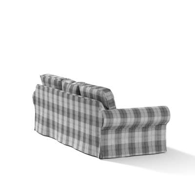 Pokrowiec na sofę Ektorp 3-osobową, rozkładaną, PIXBO w kolekcji Edinburgh, tkanina: 115-75