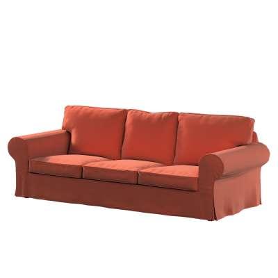 Pokrowiec na sofę Ektorp 3-osobową, rozkładaną, PIXBO w kolekcji Ingrid, tkanina: 705-37