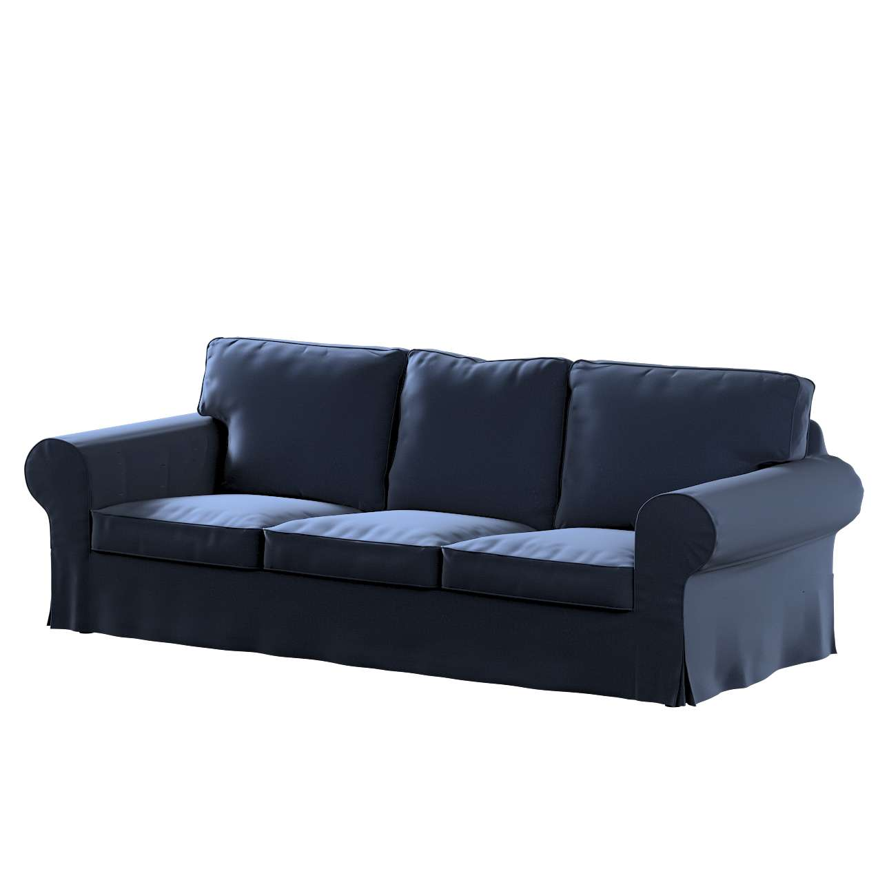 Pokrowiec na sofę Ektorp 3-osobową, rozkładaną, PIXBO w kolekcji Ingrid, tkanina: 705-39