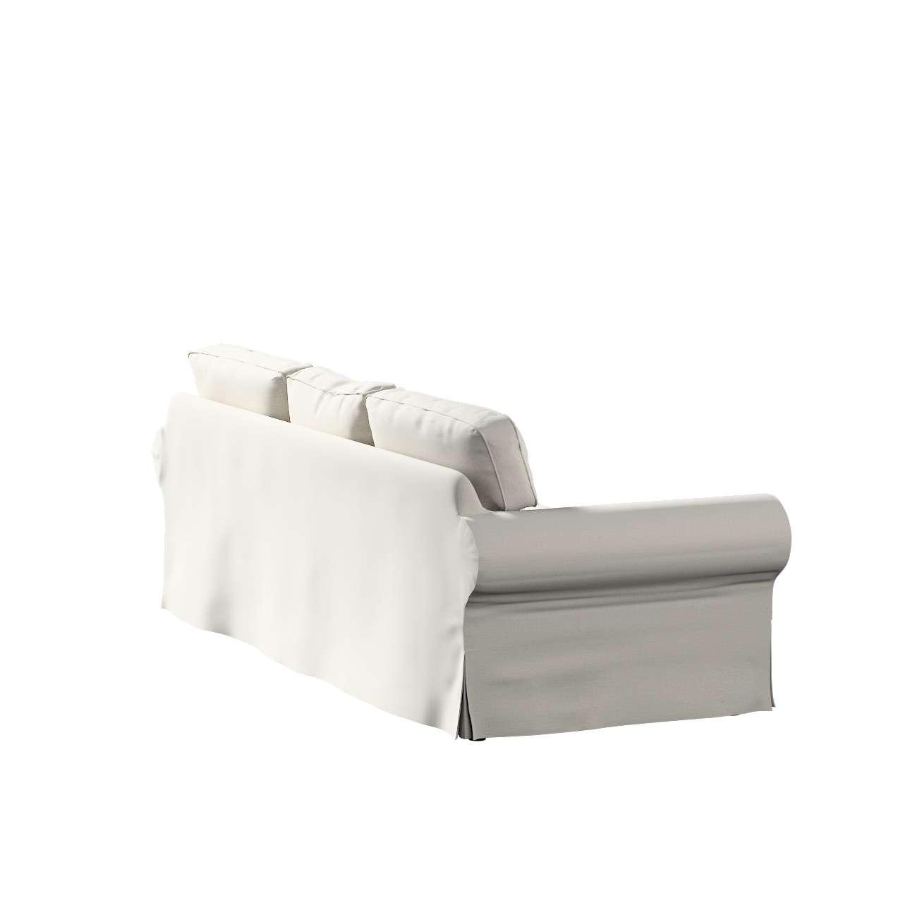 Pokrowiec na sofę Ektorp 3-osobową, rozkładaną, PIXBO w kolekcji Ingrid, tkanina: 705-40