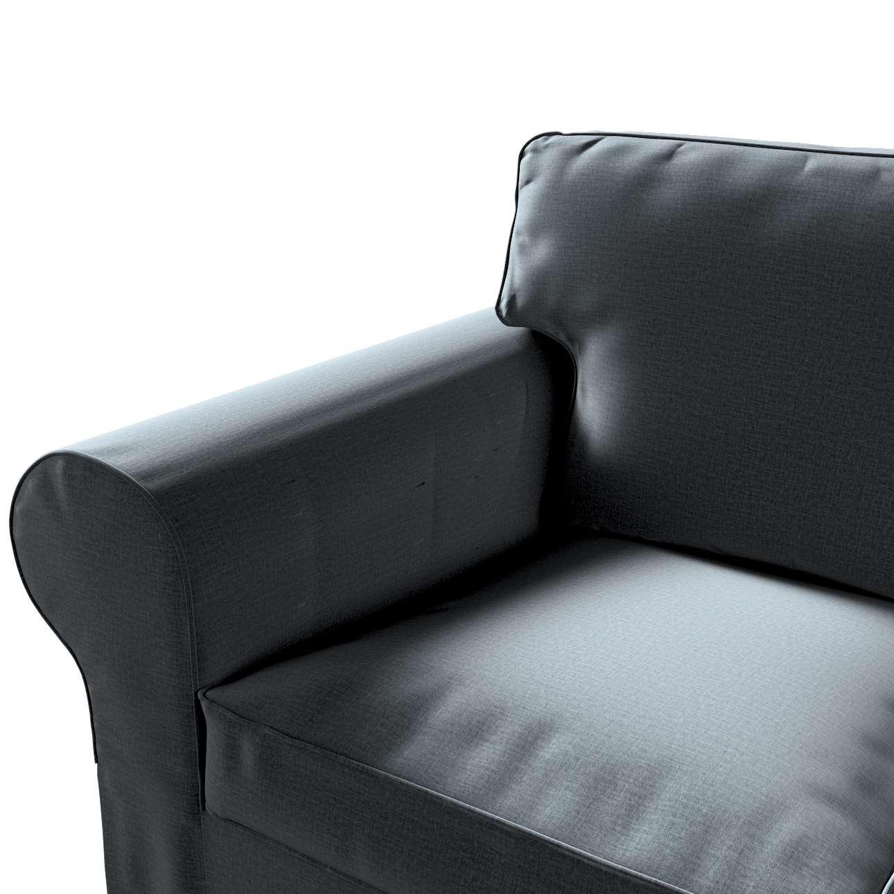 Pokrowiec na sofę Ektorp 3-osobową, rozkładaną, PIXBO w kolekcji Ingrid, tkanina: 705-43