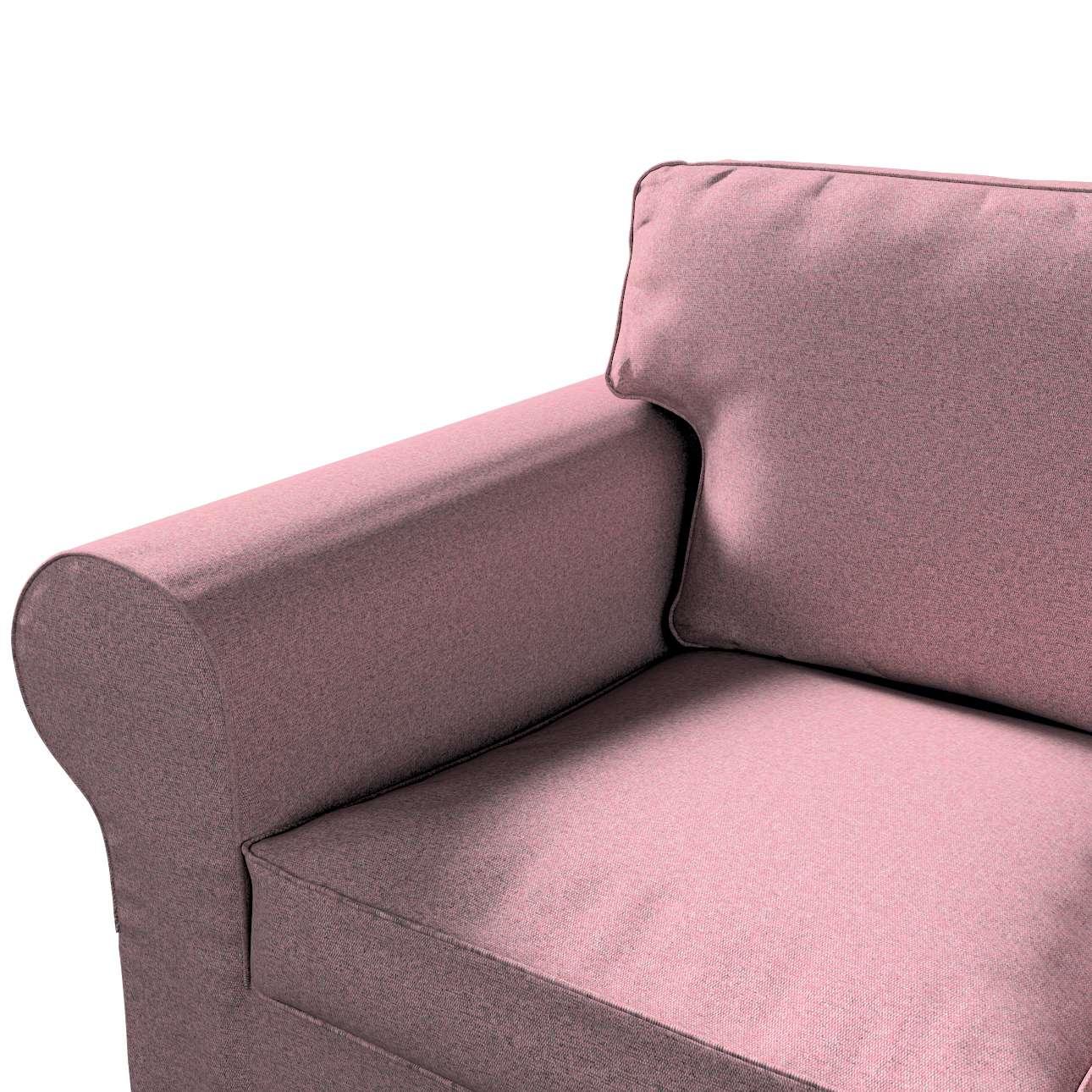 Pokrowiec na sofę Ektorp 3-osobową, rozkładaną, PIXBO w kolekcji Amsterdam, tkanina: 704-48