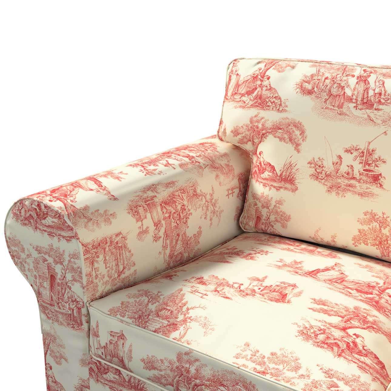 Pokrowiec na sofę Ektorp 3-osobową, rozkładaną STARY MODEL w kolekcji Avinon, tkanina: 132-15