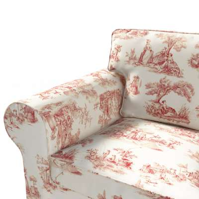 Pokrowiec na sofę Ektorp 3-osobową, rozkładaną, PIXBO w kolekcji Avinon, tkanina: 132-15