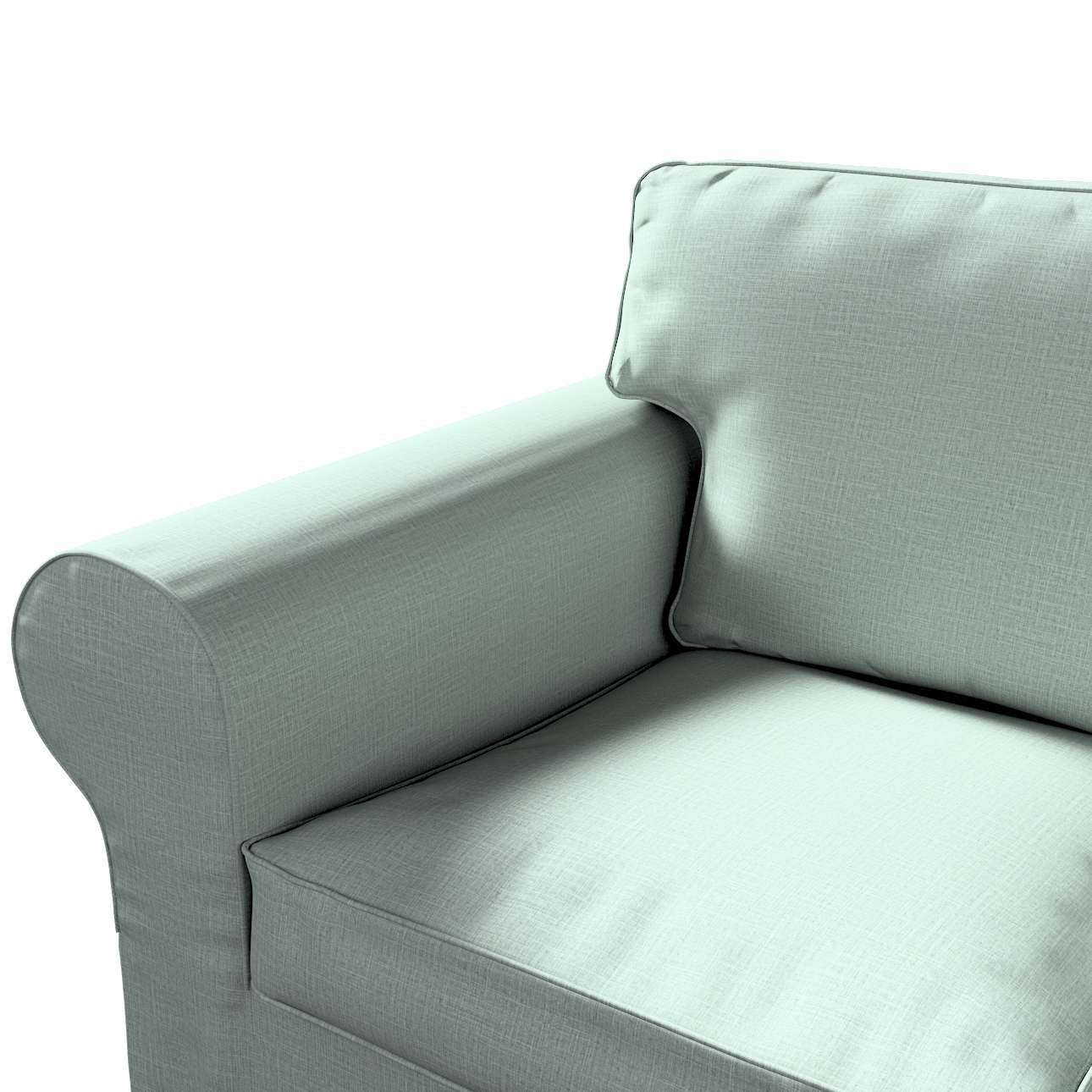 Pokrowiec na sofę Ektorp 3-osobową, rozkładaną, PIXBO w kolekcji Living II, tkanina: 160-86