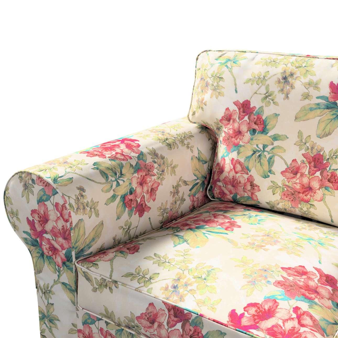 Pokrowiec na sofę Ektorp 3-osobową, rozkładaną, PIXBO w kolekcji Londres, tkanina: 143-40