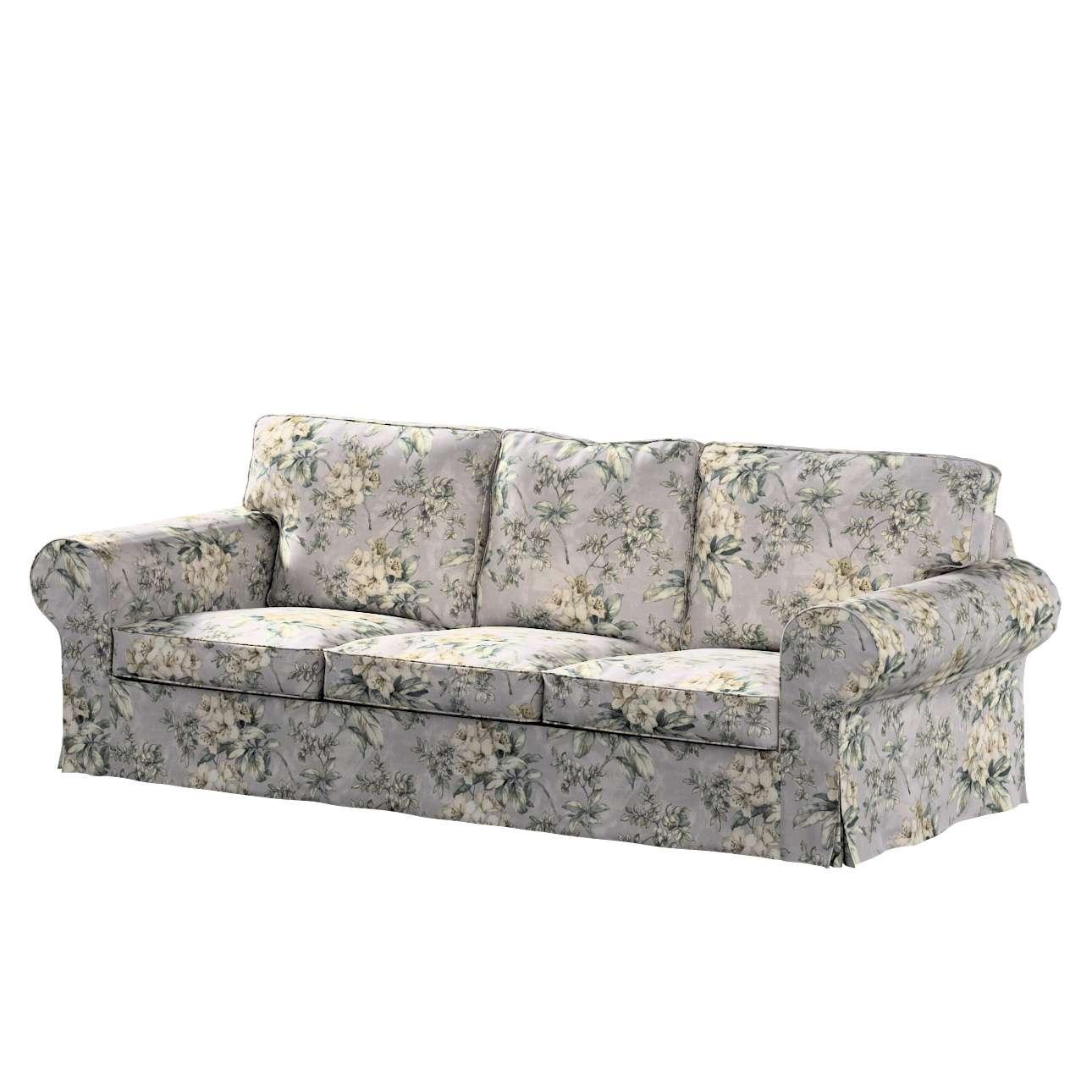 Pokrowiec na sofę Ektorp 3-osobową, rozkładaną, PIXBO w kolekcji Londres, tkanina: 143-36