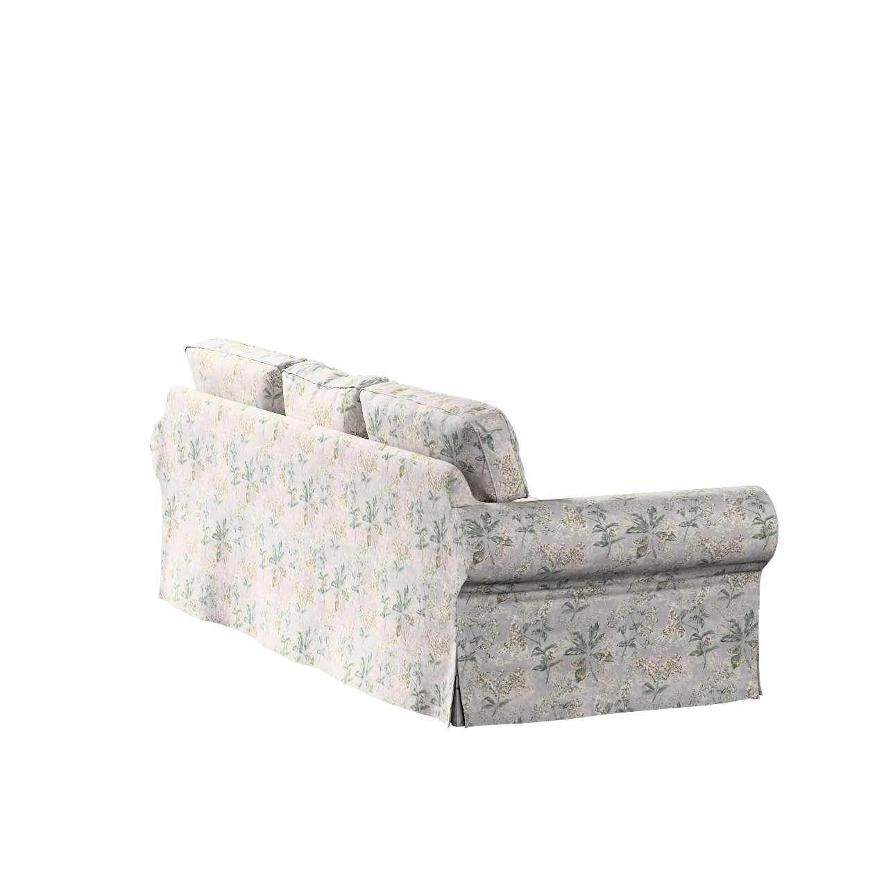 Pokrowiec na sofę Ektorp 3-osobową, rozkładaną, PIXBO w kolekcji Londres, tkanina: 143-37