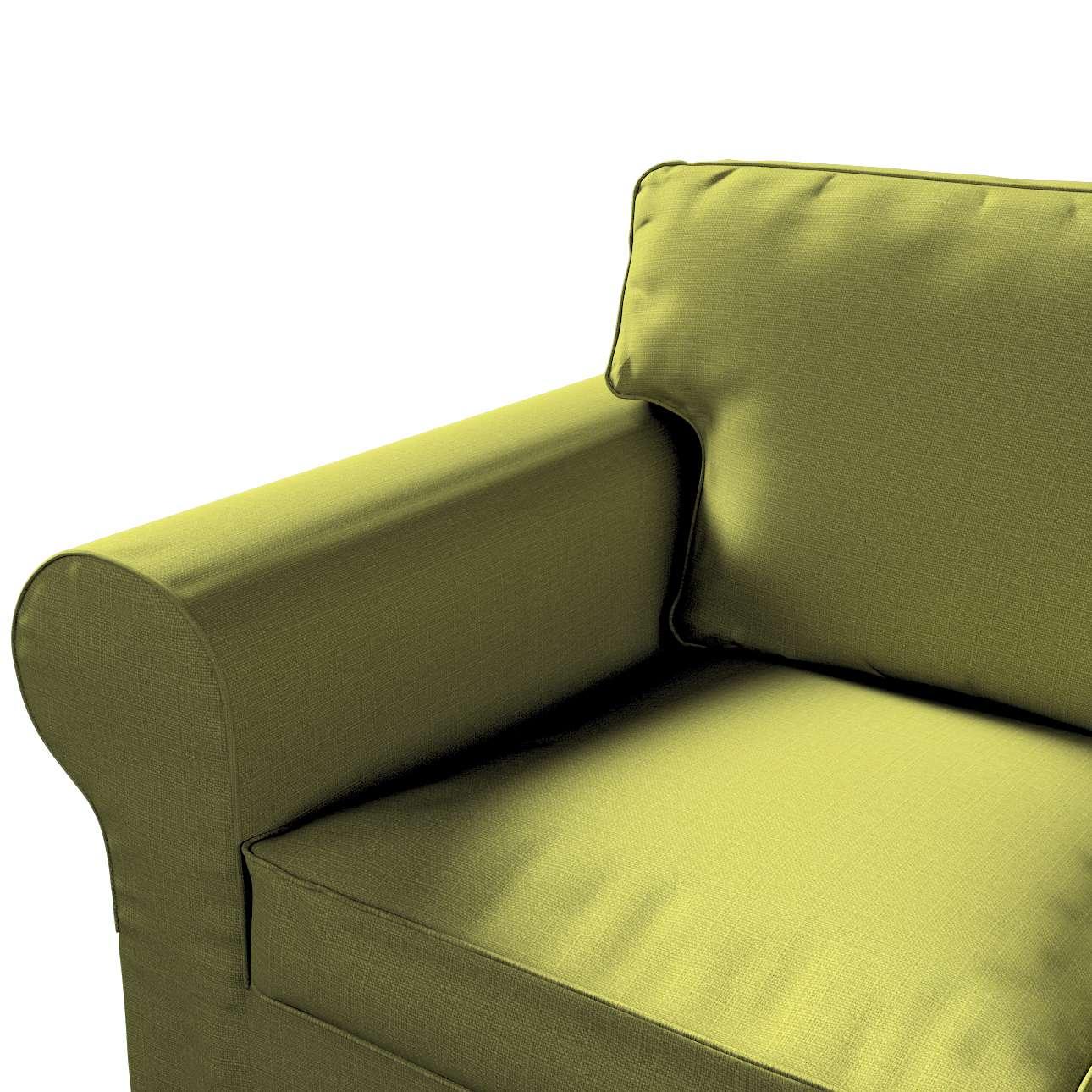 Pokrowiec na sofę Ektorp 3-osobową, rozkładaną, PIXBO w kolekcji Living II, tkanina: 161-13