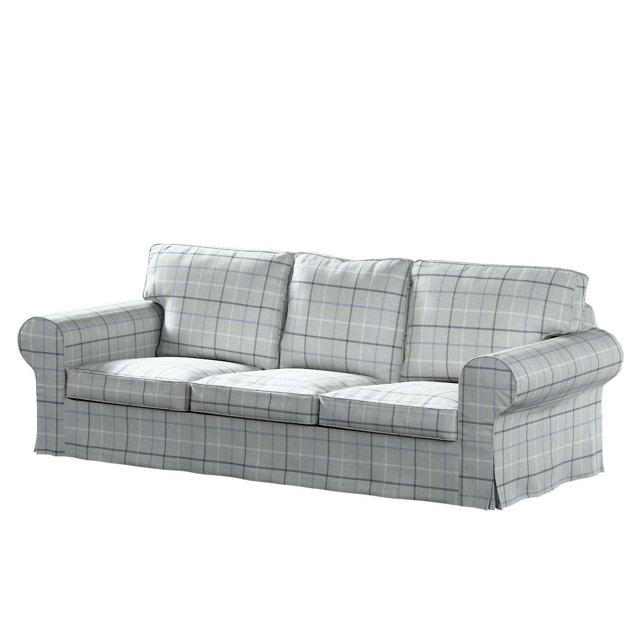 Pokrowiec na sofę Ektorp 3-osobową, rozkładaną, PIXBO w kolekcji Edinburgh, tkanina: 703-18