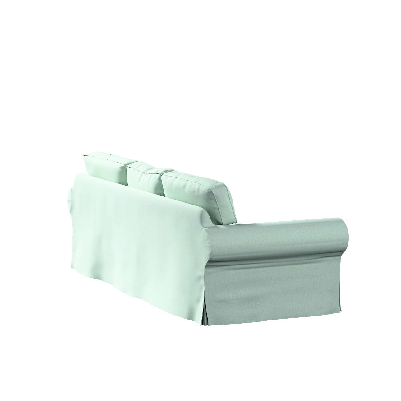 Pokrowiec na sofę Ektorp 3-osobową, rozkładaną, PIXBO w kolekcji Living, tkanina: 161-61