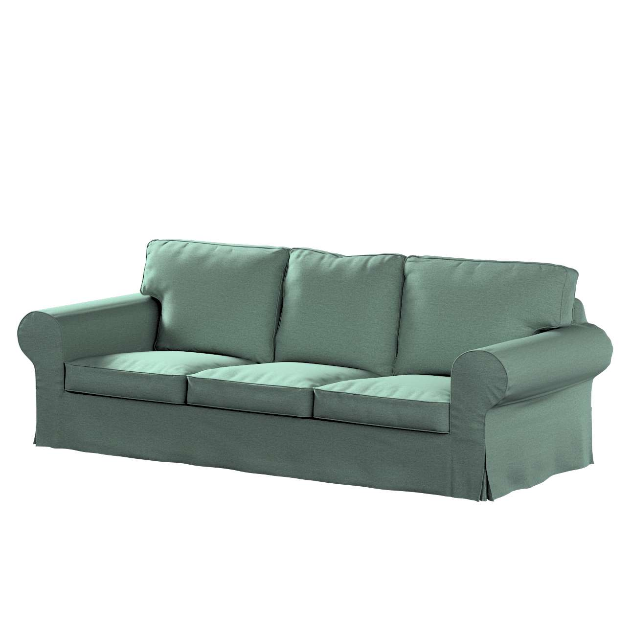 Pokrowiec na sofę Ektorp 3-osobową, rozkładaną, PIXBO w kolekcji Madrid, tkanina: 161-89