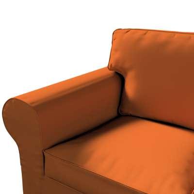Pokrowiec na sofę Ektorp 3-osobową, rozkładaną, PIXBO w kolekcji Cotton Panama, tkanina: 702-42