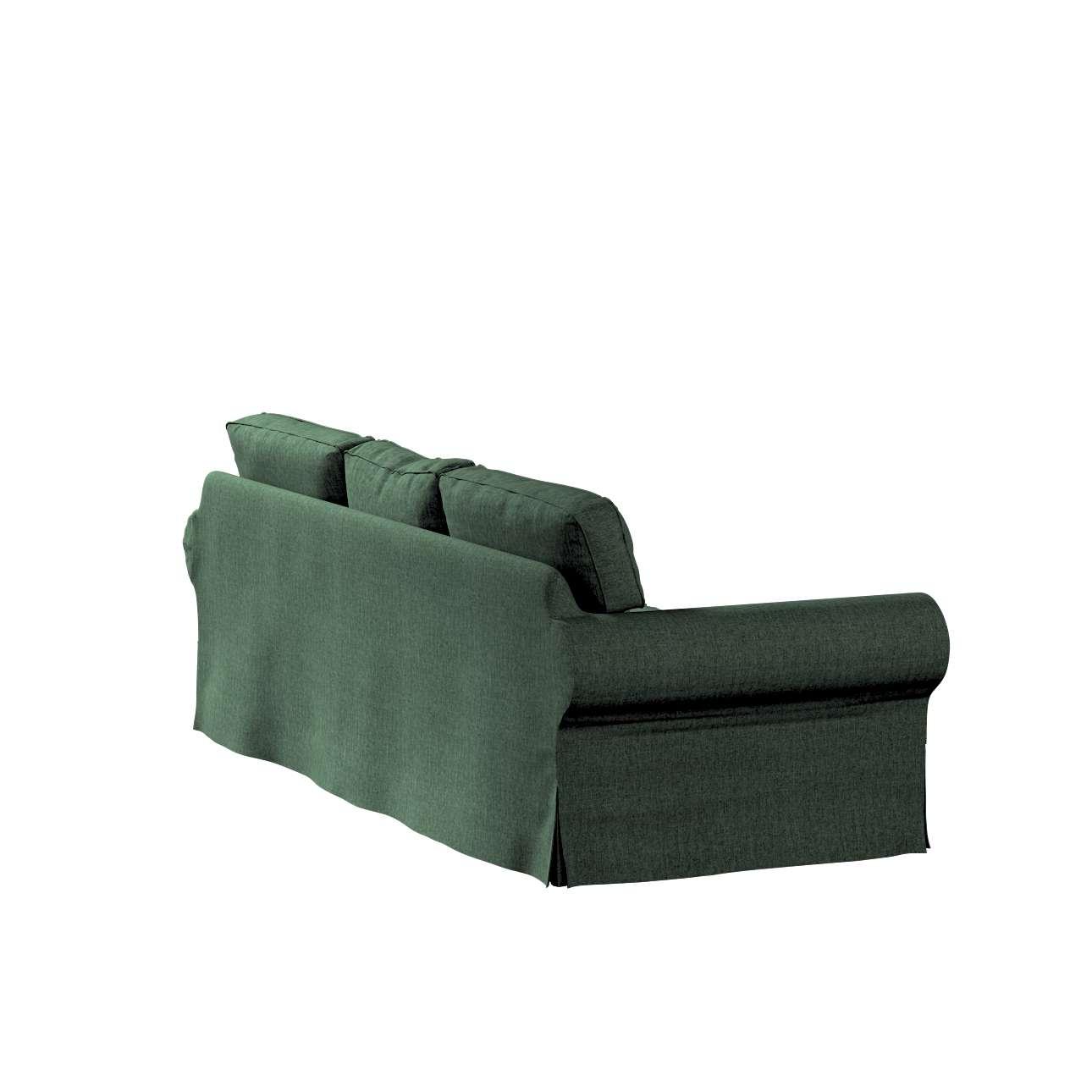 Pokrowiec na sofę Ektorp 3-osobową, rozkładaną, PIXBO w kolekcji City, tkanina: 704-81