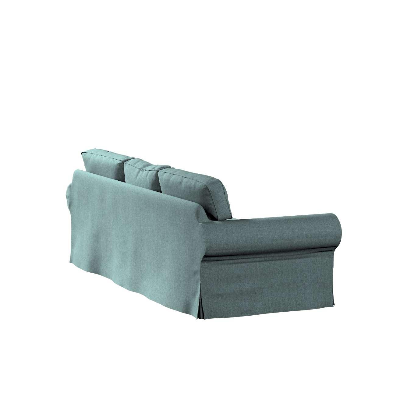 Pokrowiec na sofę Ektorp 3-osobową, rozkładaną, PIXBO w kolekcji City, tkanina: 704-85