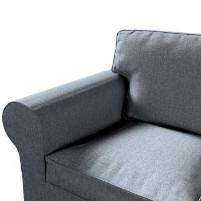 Pokrowiec na sofę Ektorp 3-osobową, rozkładaną, PIXBO w kolekcji City, tkanina: 704-86