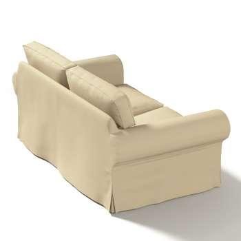Pokrowiec na sofę Ektorp 2-osobową, rozkładaną, model do 2012 w kolekcji Cotton Panama, tkanina: 702-01