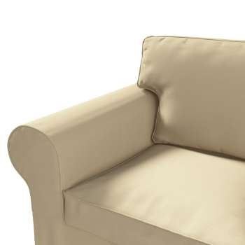 Pokrowiec na sofę Ektorp 2-osobową, rozkładaną STARY MODEL w kolekcji Cotton Panama, tkanina: 702-01