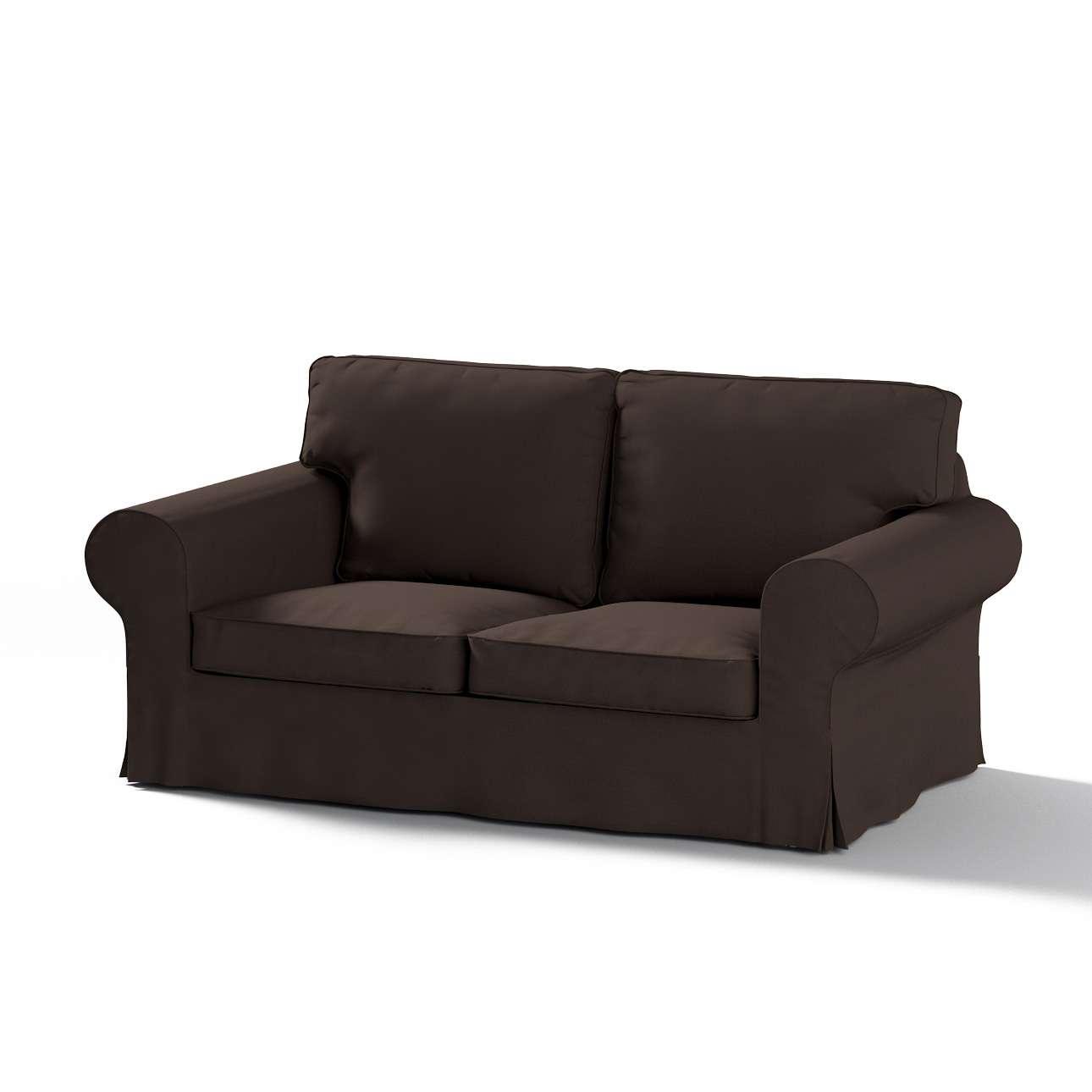 Pokrowiec na sofę Ektorp 2-osobową, rozkładaną, model do 2012 w kolekcji Cotton Panama, tkanina: 702-03