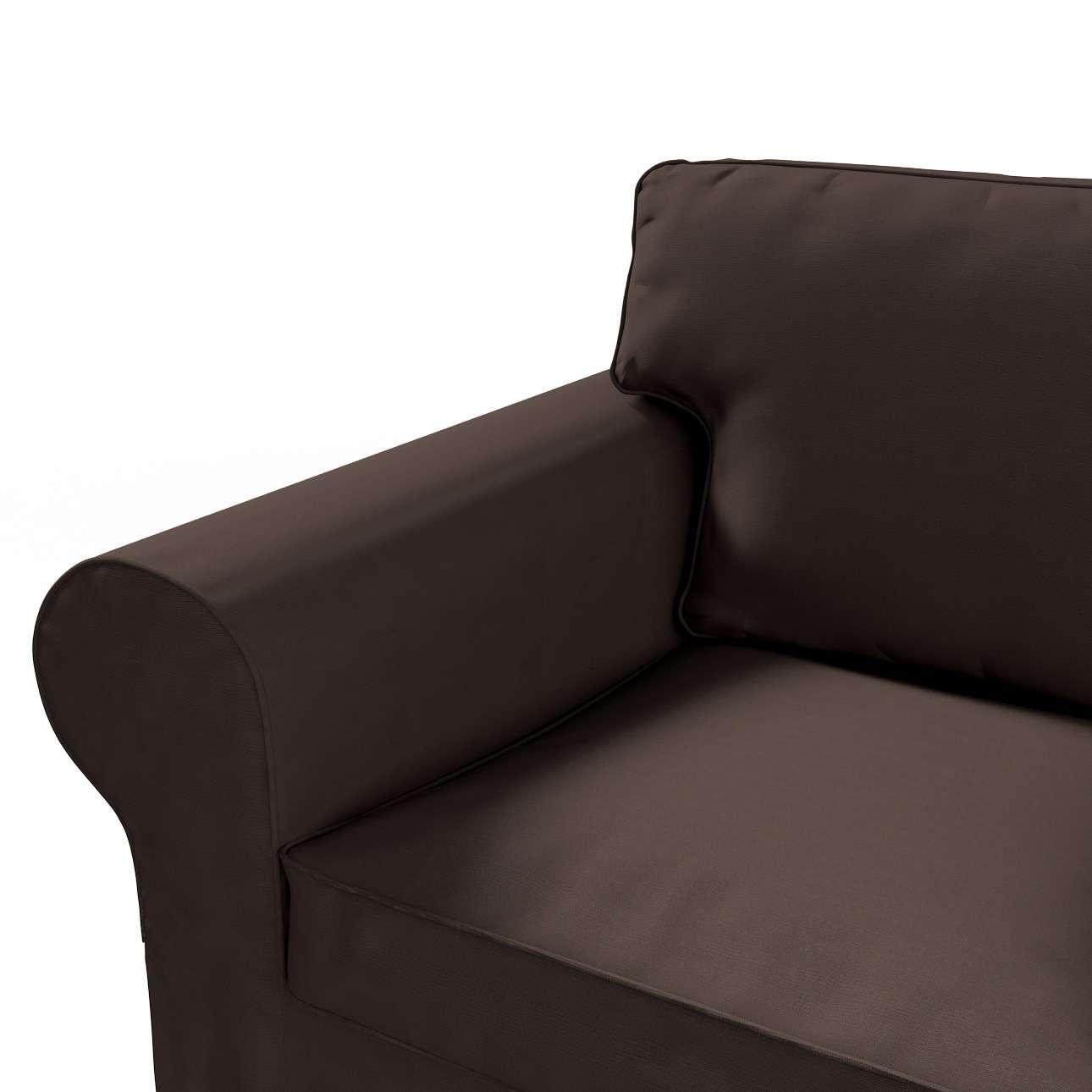 Ektorp 2 sæder sovesofa gammel model<br/>Bredde ca 195cm fra kollektionen Cotton Panama, Stof: 702-03