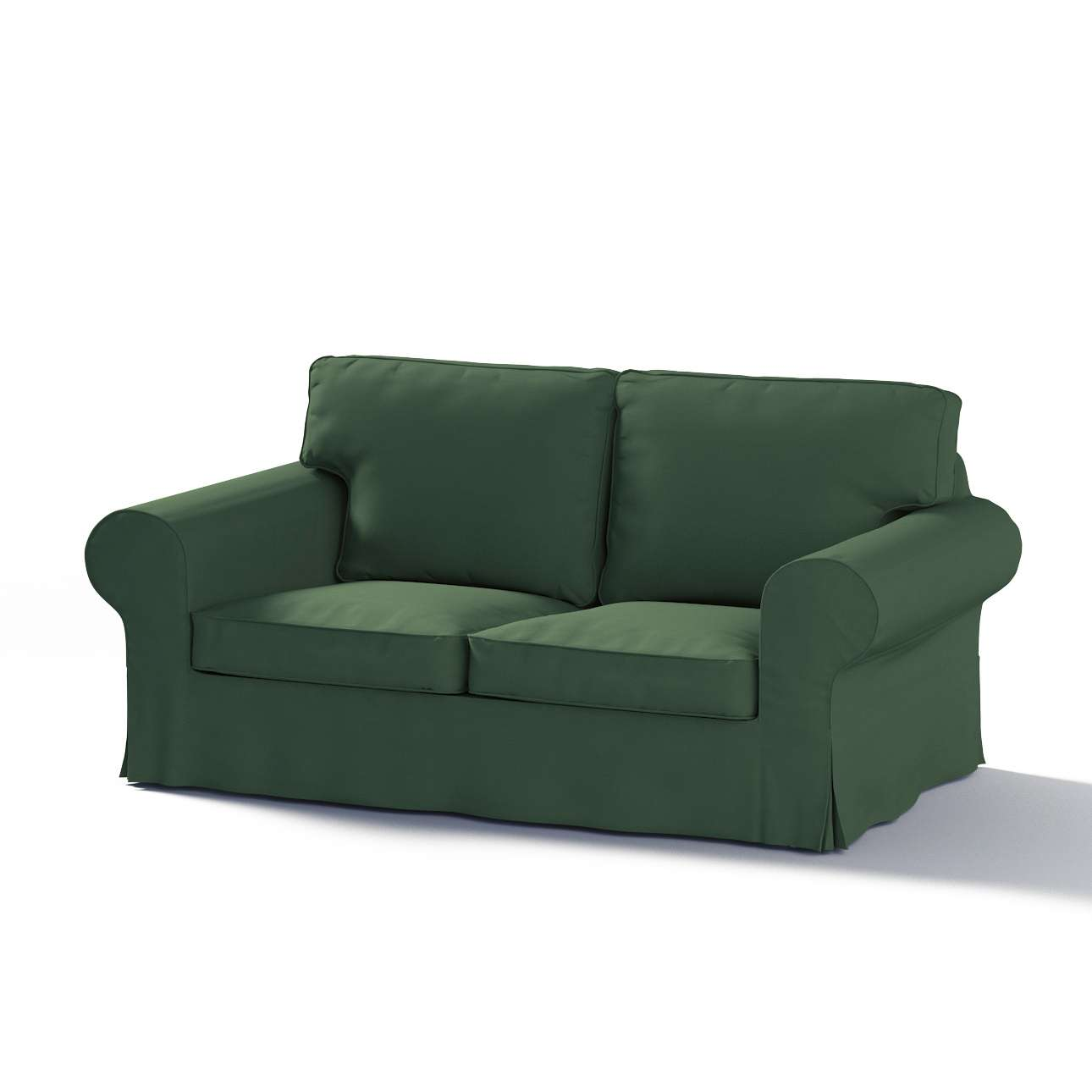 IKEA Ektorp<br>2-sits bäddsoffa ryggbredd 195cm Gamla modell 2-sits bäddsoffa i kollektionen Panama Cotton , Tyg: 702-06