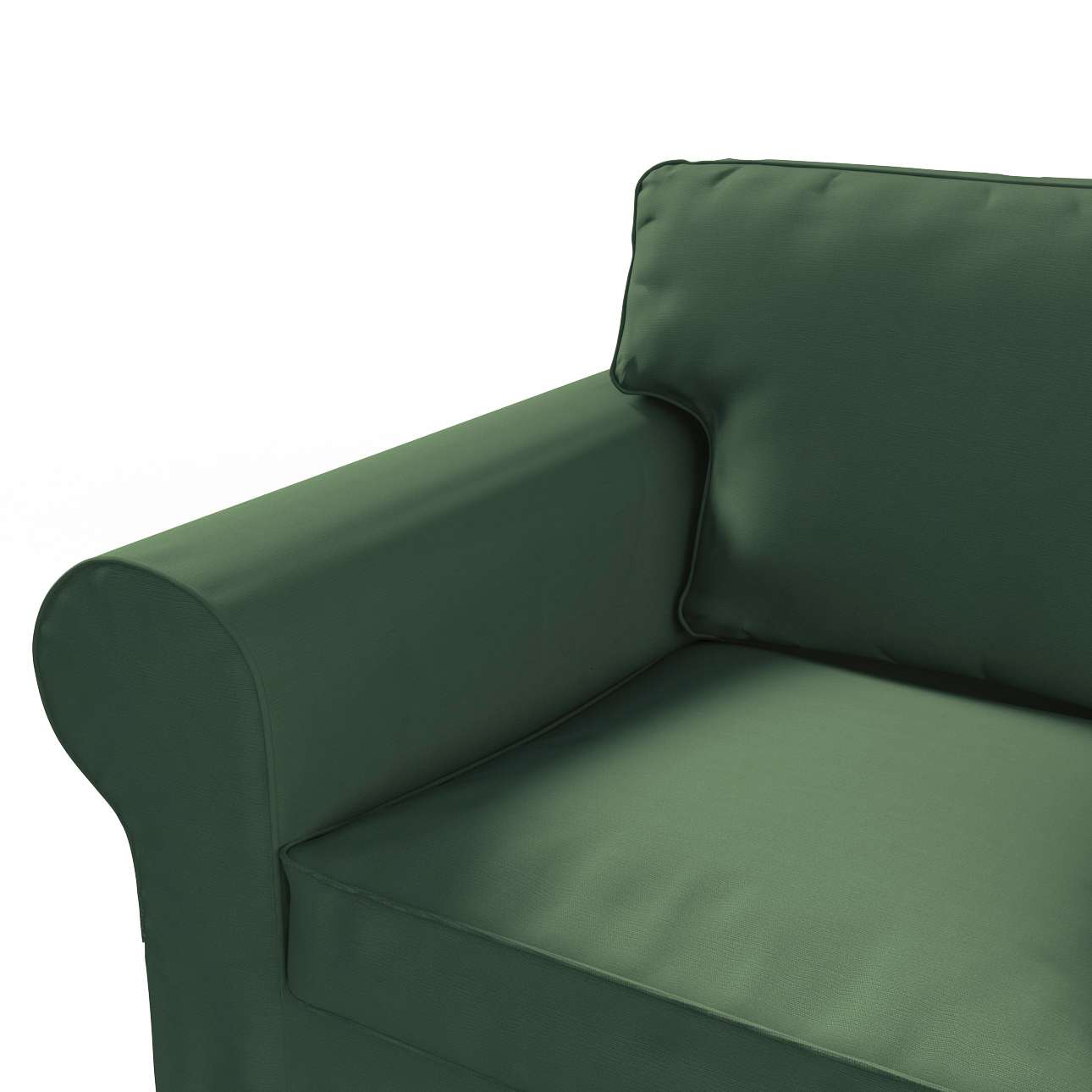 Potah na pohovku IKEA  Ektorp 2-místná, rozkládací, STARÝ MODEL pohovka Ektorp 2-místná rozkládací v kolekci Cotton Panama, látka: 702-06