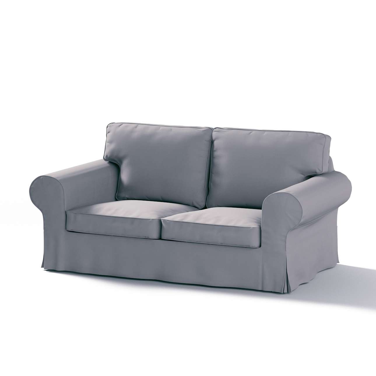 Ektorp 2 sæder sovesofa gammel model<br/>Bredde ca 195cm Betræk uden sofa fra kollektionen Cotton Panama, Stof: 702-07