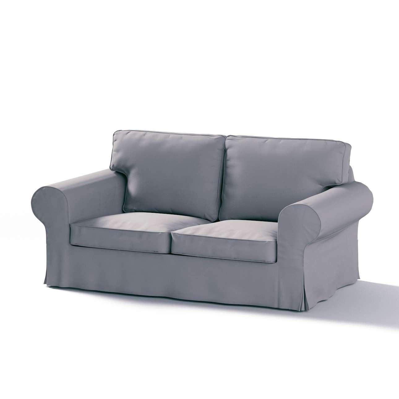 Pokrowiec na sofę Ektorp 2-osobową, rozkładaną, model do 2012 w kolekcji Cotton Panama, tkanina: 702-07