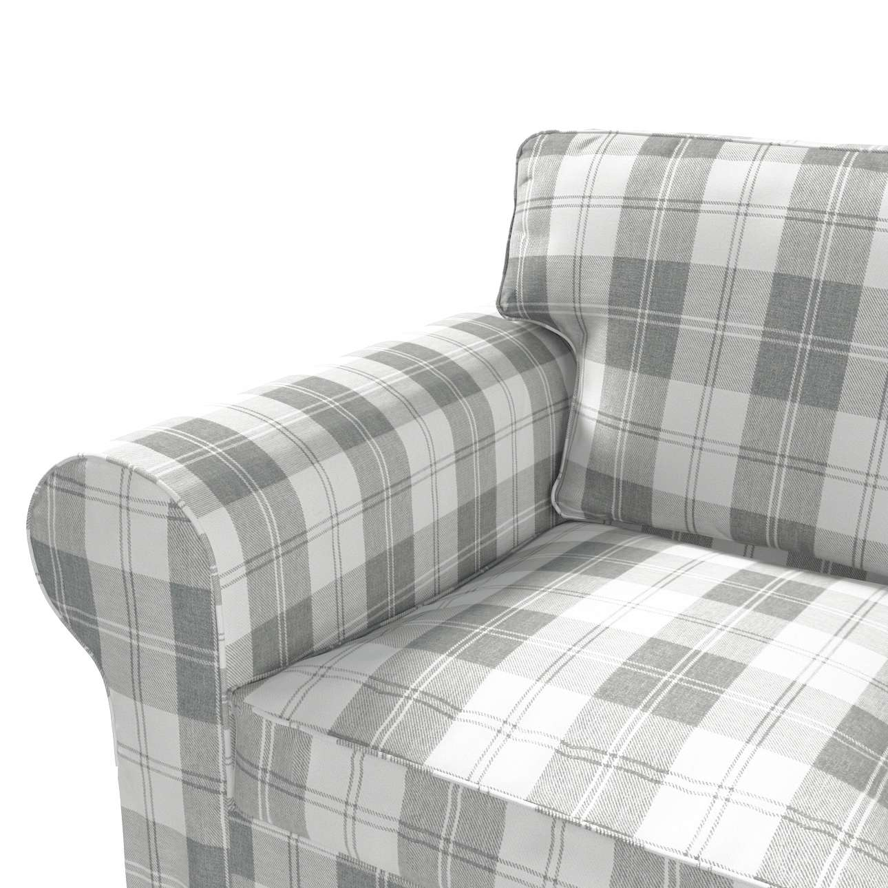 Pokrowiec na sofę Ektorp 2-osobową, rozkładaną STARY MODEL w kolekcji Edinburgh, tkanina: 115-79