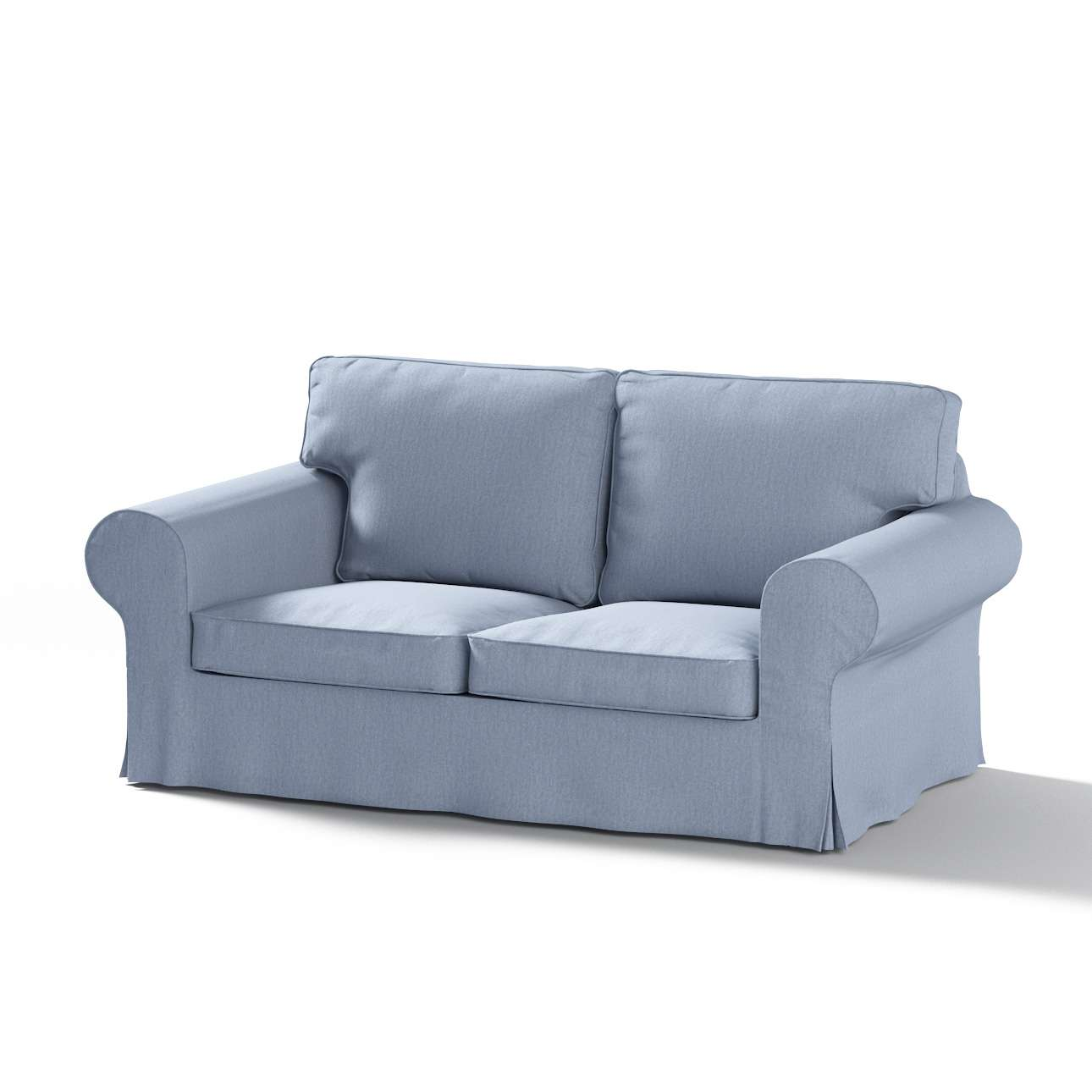 Ektorp 2 sæder sovesofa gammel model<br/>Bredde ca 195cm Betræk uden sofa fra kollektionen Chenille, Stof: 702-13