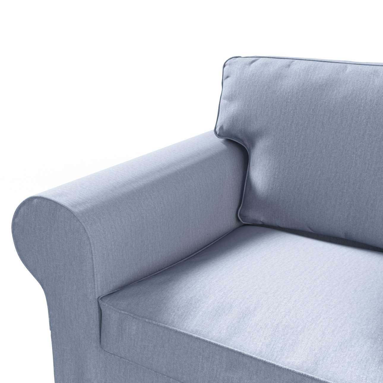 Ektorp betræk 2 sæder sovesofa gammel model<br/>Bredde ca 195cm fra kollektionen Chenille, Stof: 702-13