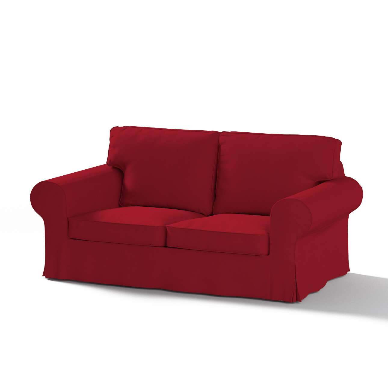 Ektorp 2 sæder sovesofa gammel model<br/>Bredde ca 195cm Betræk uden sofa fra kollektionen Chenille, Stof: 702-24