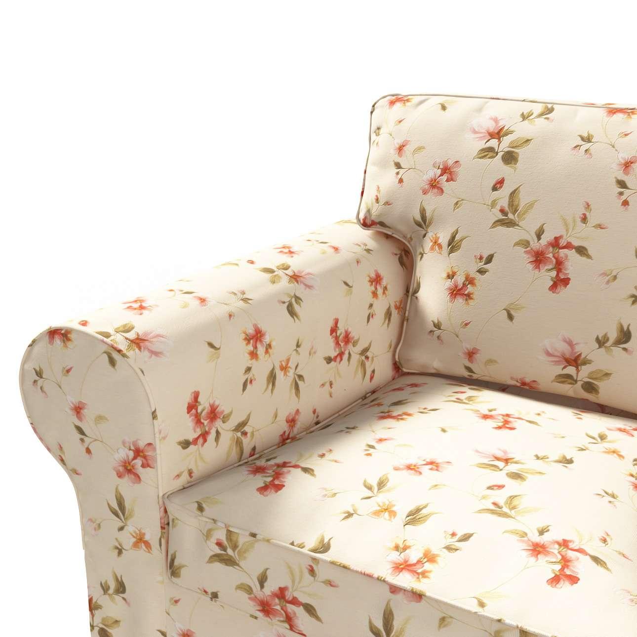 Ektorp 2 sæder sovesofa gammel model<br/>Bredde ca 195cm Betræk uden sofa fra kollektionen Londres, Stof: 124-05