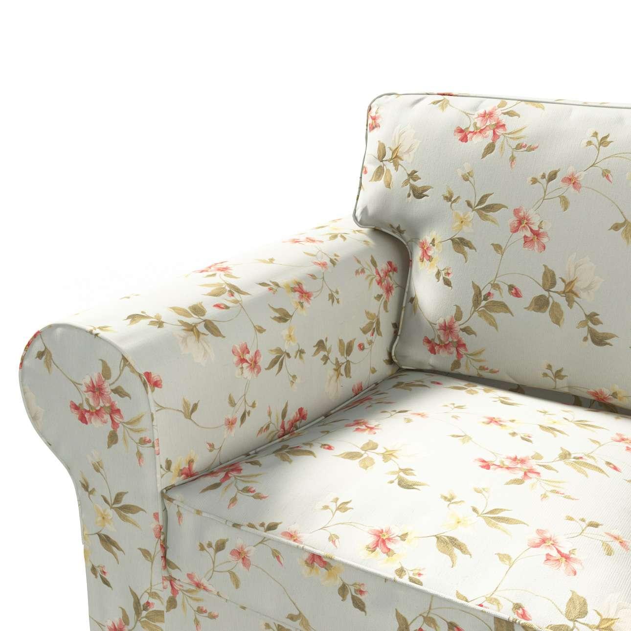 Ektorp 2 sæder sovesofa gammel model<br/>Bredde ca 195cm Betræk uden sofa fra kollektionen Londres, Stof: 124-65